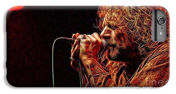 Robert Plant Led Zeppelin IPhone 6 Plus Case by Marvin Blaine