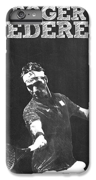 Roger Federer IPhone 6 Plus Case by Semih Yurdabak