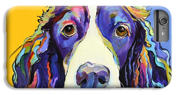 Dog iPhone 6 Plus Case - Sadie by Pat Saunders-White