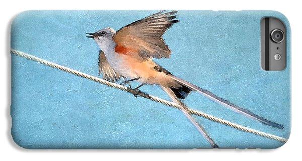 Scissor-tailed Flycatcher IPhone 6 Plus Case by Betty LaRue