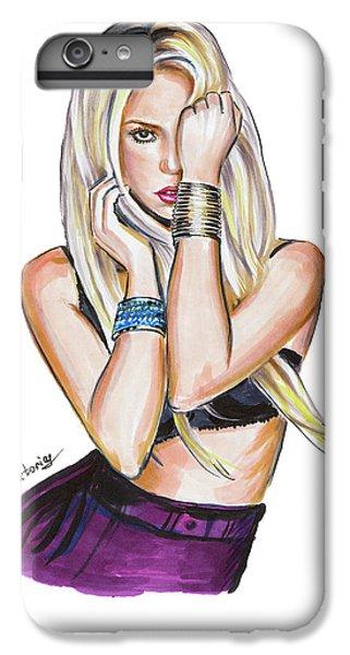 Shakira iPhone 6 Plus Case - Shakira by Viktoryia Lavtsevich