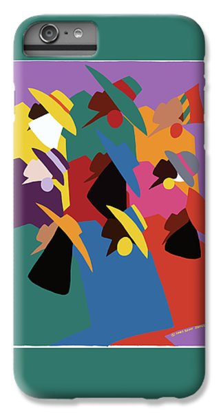 iPhone 6 Plus Case - Sisters Of Courage by Synthia SAINT JAMES