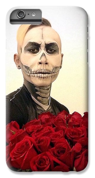 Skull Tux And Roses IPhone 6 Plus Case by Kent Chua