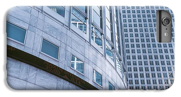 Skyscrapers In A City, Canary Wharf IPhone 6 Plus Case by Panoramic Images