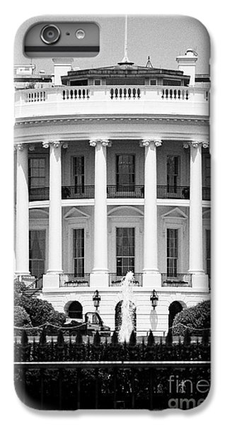south facade of the white house Washington DC USA IPhone 6 Plus Case by Joe Fox