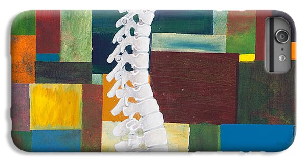 Figurative iPhone 6 Plus Case - Spine by Sara Young