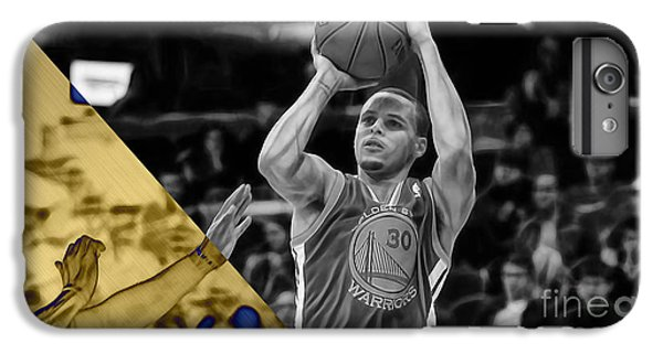 Steph Curry Collection IPhone 6 Plus Case by Marvin Blaine