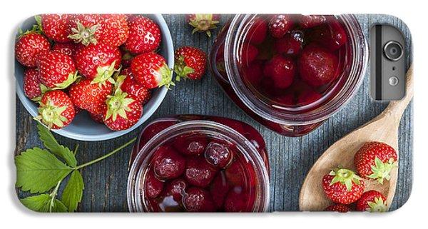 Strawberry Preserve IPhone 6 Plus Case by Elena Elisseeva