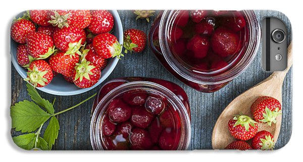 Strawberry Preserve IPhone 6 Plus Case by Elena Elisseeva