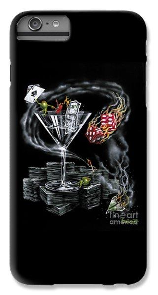 Martini iPhone 6 Plus Case - Strike It Rich by Michael Godard
