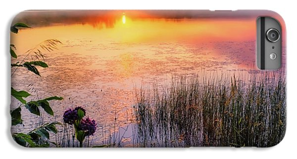 IPhone 6 Plus Case featuring the photograph Summer Sunrise Square by Bill Wakeley