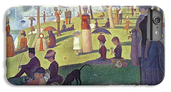 Dog iPhone 6 Plus Case - Sunday Afternoon On The Island Of La Grande Jatte by Georges Pierre Seurat