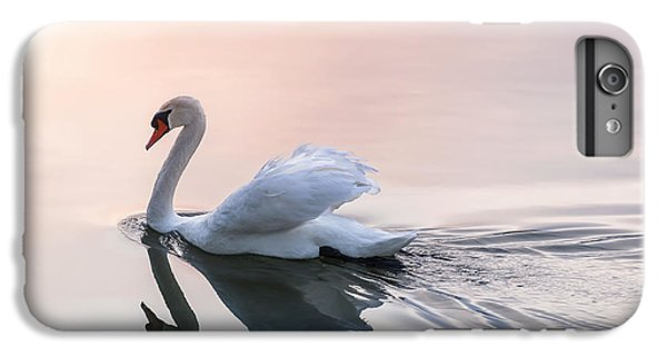 Sunset Swan IPhone 6 Plus Case by Elena Elisseeva