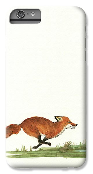 The Fox And The Pelicans IPhone 6 Plus Case