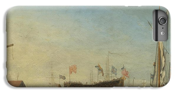 The Launch Of A Man Of War IPhone 6 Plus Case by Robert Woodcock