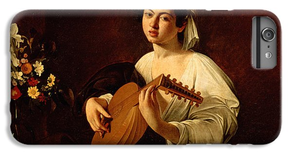 Music iPhone 6 Plus Case - The Lute-player by Caravaggio