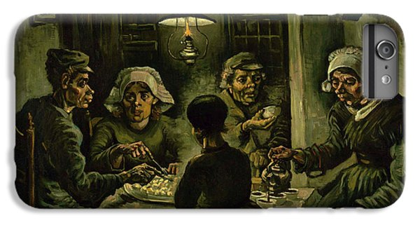 The Potato Eaters, 1885 IPhone 6 Plus Case