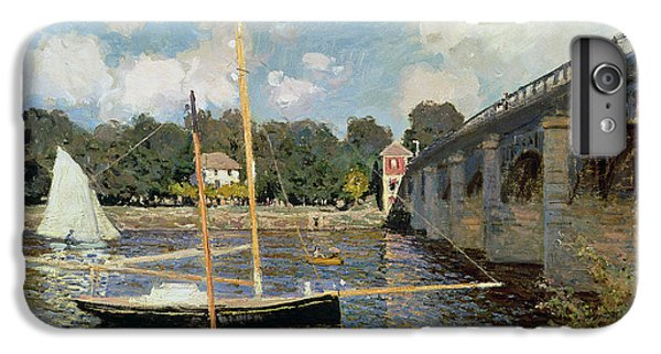 Boat iPhone 6 Plus Case - The Seine At Argenteuil by Claude Monet