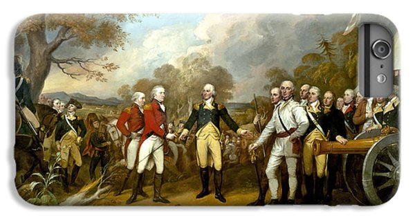 Landmarks iPhone 6 Plus Case - The Surrender Of General Burgoyne by War Is Hell Store