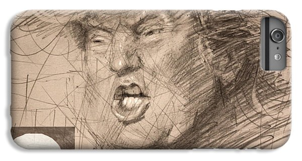 Trump IPhone 6 Plus Case by Ylli Haruni
