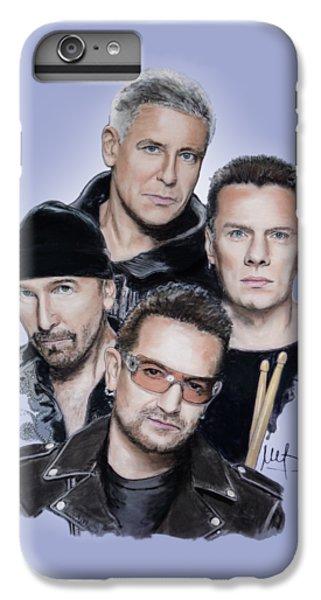 U2 IPhone 6 Plus Case by Melanie D
