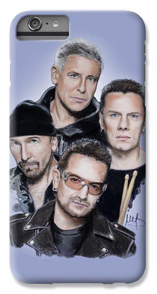 Bono iPhone 6 Plus Case - U2 by Melanie D