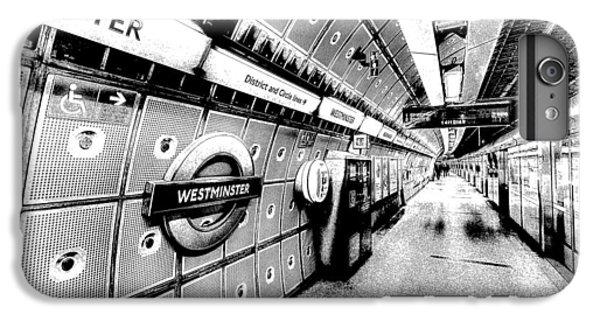 Underground London Art IPhone 6 Plus Case by David Pyatt