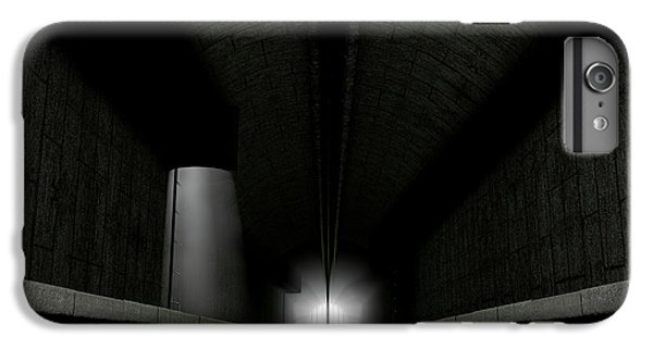 London Tube iPhone 6 Plus Case - Underground Sewer by Allan Swart