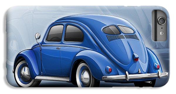 Volkswagen Beetle Vw 1948 Blue IPhone 6 Plus Case