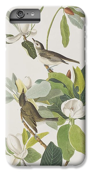 Warbling Flycatcher IPhone 6 Plus Case by John James Audubon