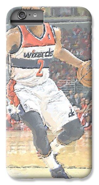 Washington Wizards John Wall IPhone 6 Plus Case by Joe Hamilton