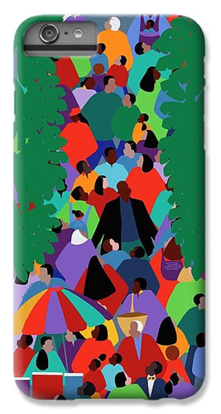 iPhone 6 Plus Case - We The People Two by Synthia SAINT JAMES