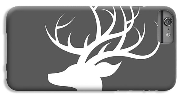 White Deer Silhouette IPhone 6 Plus Case