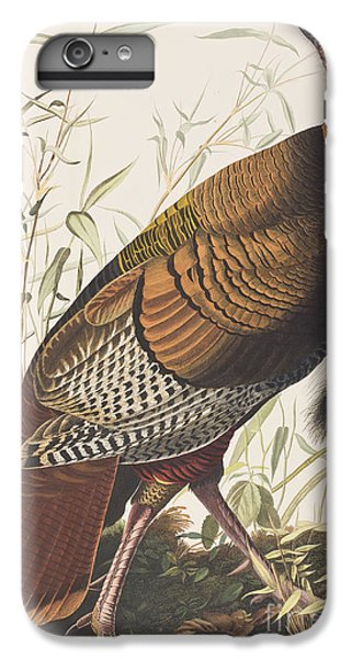 Wild Turkey IPhone 6 Plus Case by John James Audubon