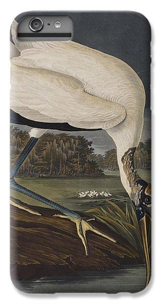 Stork iPhone 6 Plus Case - Wood Ibis by John James Audubon