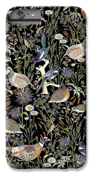 Woodland Edge Birds IPhone 6 Plus Case by Jacqueline Colley
