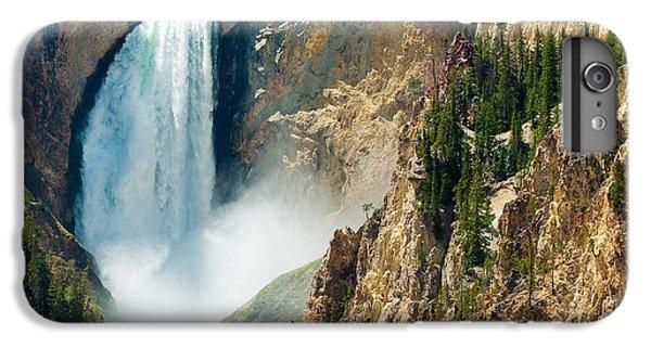 Yellowstone Waterfalls IPhone 6 Plus Case by Sebastian Musial