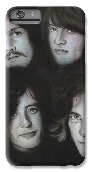 Rock Music Jimmy Page iPhone 6 Plus Case - Zeppelin by Christian Chapman Art