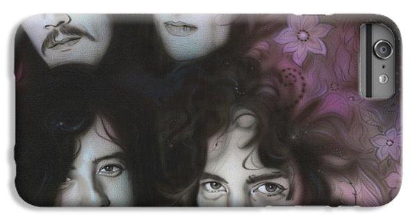 Led Zeppelin - ' Zeppelin ' IPhone 6 Plus Case by Christian Chapman Art