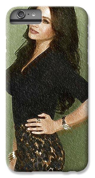 Shakira iPhone 6 Plus Case - Celebrity Sofia Vergara  by Elizabeth Simon