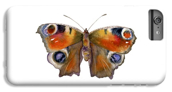 10 Peacock Butterfly IPhone 6 Plus Case