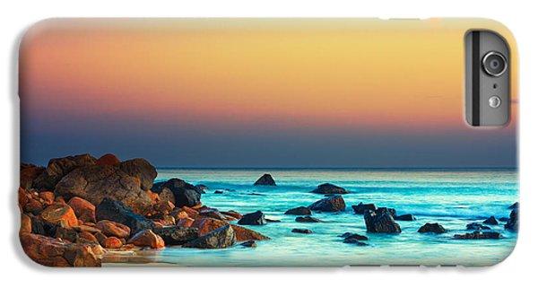 Water Ocean iPhone 6 Plus Case - Sunset by MotHaiBaPhoto Prints