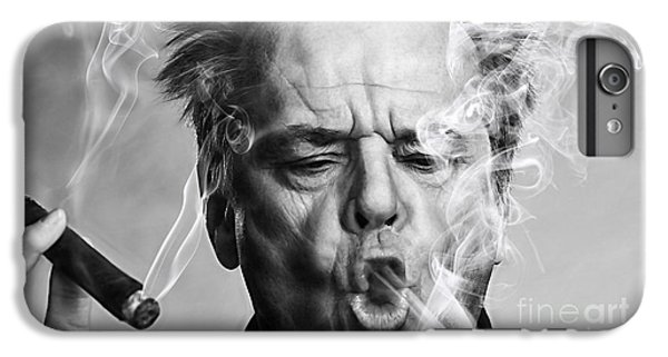 Jack Nicholson Collection IPhone 6 Plus Case by Marvin Blaine