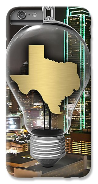 Texas State Map Collection IPhone 6 Plus Case