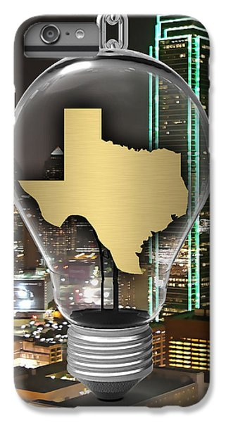 Texas State Map Collection IPhone 6 Plus Case by Marvin Blaine