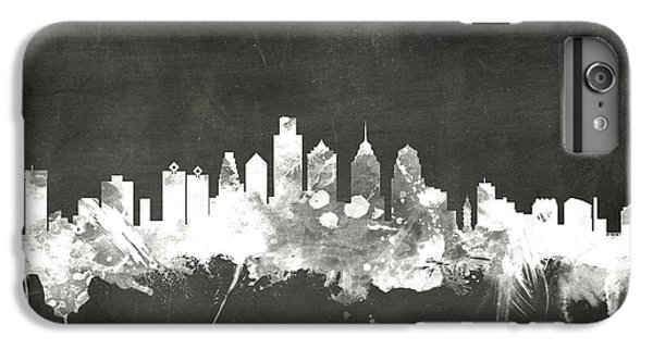 Philadelphia Pennsylvania Skyline IPhone 6 Plus Case by Michael Tompsett