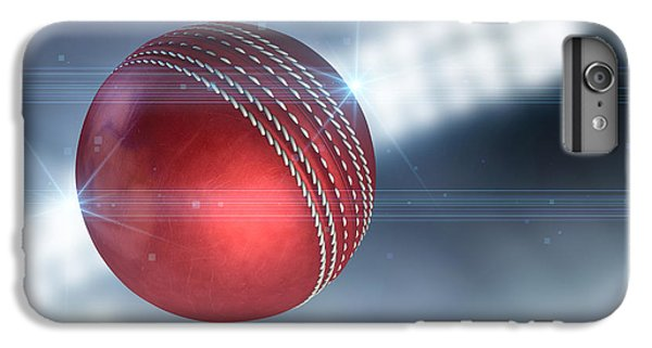 Cricket iPhone 6 Plus Case - Ball Flying Through The Air by Allan Swart