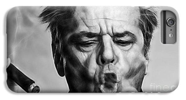 Jack Nicholson iPhone 6 Plus Case - Jack Nicholson Collection by Marvin Blaine