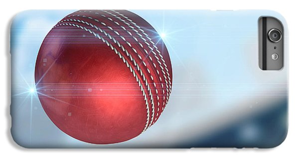 Ball Flying Through The Air IPhone 6 Plus Case by Allan Swart