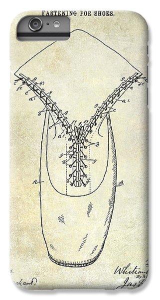 1896 Shoe Patent  IPhone 6 Plus Case by Jon Neidert